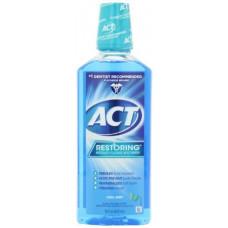 [해외]Act Mw Restre Mint Size 18z Act Cool Splash Mint Restoring Anticavity Mouthwash (Pack of 2)