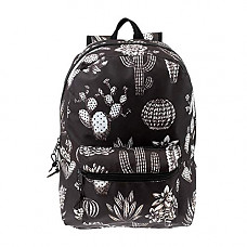 [해외]Arctic Star 17 inch Kids Classic Cute Printed Padded School Backpack w/Headphone Slot in Cactus Print for Boys and Girls