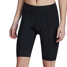 [해외]Baleaf Womens 3D Padded Cycling Shorts Breathable Bike Shorts Zipper Pocket UPF 50+ Black Size XL