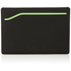 [해외]팩세이프 RFIDsafe RFID Blocking TEC Sleeve Wallet, Black/Lime