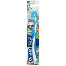 [해외]오랄비 Pro-Health For Me CrossAction Soft, Disney Frozen Manual Kids Toothbrush, Pack of 4