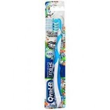 [해외]오랄비 Pro-Health For Me CrossAction Soft, Disney Frozen Manual Kids Toothbrush, Pack of 4