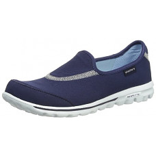 [해외]Skechers Performance Womens Go Walk 1 Slip-On Walking Shoe, Navy, 6.5 M US
