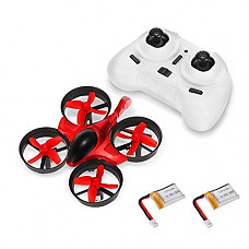 [해외]Mini RC Quadcopter - GoolRC T36 Drone 2.4G 4 Channel 6 Axis with 3D Flip Headless Mode One Key Return Nano Copters RTF Mode 2 with Bonus 배터리 for Kids Children
