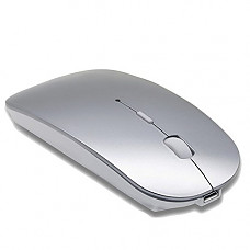 [해외]Rechargeable Bluetooth Mouse for MacBook Laptop MacBook pro MacBook Air PC Gray