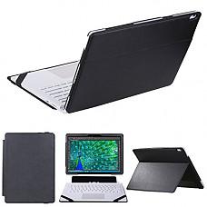 [해외]쿠로코 Case for Surface Book,2 in 1 Kickstand Book Style case for Mirosoft Surface Book 13.5 inch Laptop (Black)