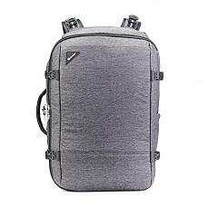 [해외]팩세이프 Vibe 40l Anti-Theft Carry-on Backpack-Granite Melange Weekender Bag, One Size