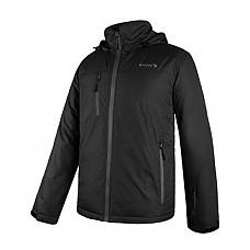[해외]Baleaf Mens Ski Mountain Jacket Winter Coat Insulated Windproof 방수 Outdoor Windbreaker with Hood Black S