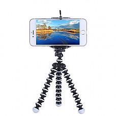 [해외]Rienar Octopus Style Flexible Portable and Adjustable Tripod Stand Holder for Small 카메라 Smart iPhone Cellphone