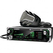 [해외]Uniden BEARCAT 880 CB Radio with 40 Channels and Large Easy-to-Read 7-Color LCD Display with Backlighting, Backlit Control Knobs/Buttons, NOAA Weather Alert, PA/CB Switch, and Wireless Mic Compatible,
