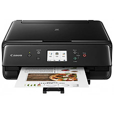 [해외]캐논 무선 복합기(프린터,스캐너,복사기) Canon PIXMA TS6220 Wireless All in One Photo Printer with Copier, Scanner and Mobile Printing, Black