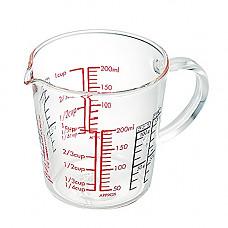 [해외]하리오 Wide Measuring Cup, 200ml