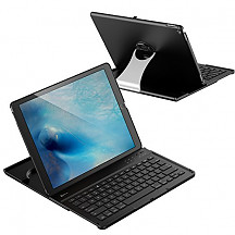 "[해외]JETech Bluetooth Keyboard Case for 애플 아이패드 Pro 12.9"" (2015 Model ONLY), 360 Degree Rotation, Multi-Angel Stand"