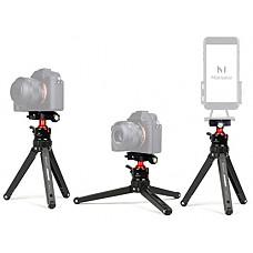 [해외]Marsace Portable Compact Desktop Macro Mini Tripod with 360 Degree Ball Head,1/4 inches Quick Release Plate,Support for 캐논 60D 5D 니콘 D90 소니 A58 A7RII DSLR Cameras Video Micro Shooting