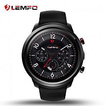 [해외]LEMFO LEF2 Android 5.1 Smart Watch Two Modes RAM 512MB ROM 8GB Bluetooth Smartwatch Support Heart Rate 모니터 GPS Wifi SIM Card for Android and iOS (Black)