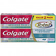 [해외]Colgate Total Advanced Fresh + Whitening Gel Toothpaste, 5.8 ounce (2 Pack)
