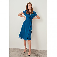 Trendyol Oil Binding Detail Dress TWOSS19KV0004