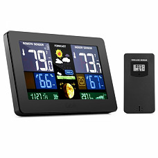 GBlife PT3378 Digital Weather Station with LCD Screen
