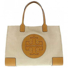 토리버치 엘라 탑핸들백 Tory Burch Women's Ella Canvas Tote Top-Handle Bag