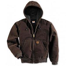칼하트 샌드스톤 자켓 Carhartt Men's Sandstone Active Jacket - Dark Brown