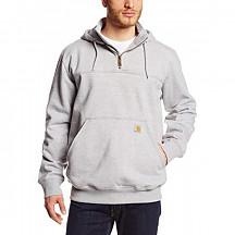칼하트 레인디펜더 후드티 Carhartt Men's Rain Defender Paxton Heavyweight Hooded Sweatshirt - Heather Gray