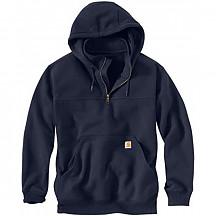 칼하트 레인디펜더 후드티 Carhartt Men's Rain Defender Paxton Heavyweight Hooded Sweatshirt - New Navy