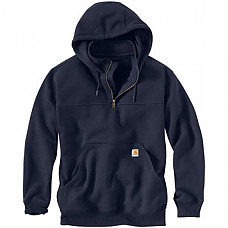 칼하트 레인디펜더 후드티 Carhartt Men's Rain Defender Paxton Heavyweight Hooded Sweatshirt - New Navy