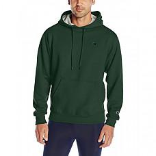 [해외] 챔피온 후드티 Champion Men's Powerblend Fleece Pullover Hoodie - Dark Green