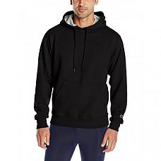 [해외] 챔피온 후드티 Champion Men's Powerblend Fleece Pullover Hoodie - Black