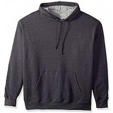 [해외] 챔피온 후드티 Champion Men's Powerblend Fleece Pullover Hoodie - Granite Heather