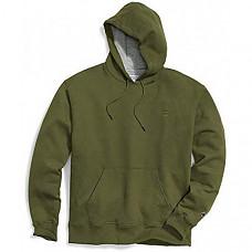 [해외] 챔피온 후드티 Champion Men's Powerblend Fleece Pullover Hoodie - Cargo Olive