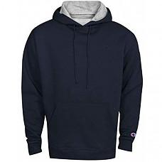 [해외] 챔피온 후드티 Champion Men's Powerblend Fleece Pullover Hoodie - Navy
