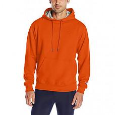 [해외] 챔피온 후드티 Champion Men's Powerblend Fleece Pullover Hoodie - Orange