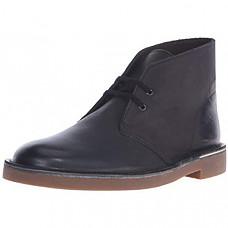 [해외] 클락스 남성 부츠 Clarks Men's Bushacre 2 Chukka Boot - Black Leather