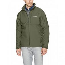 [해외] 콜롬비아 소프트셀 자켓 Columbia Men's Ascender Softshell Jacket, Water & Wind Resistant - Surplus Green