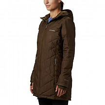 [해외] 콜롬비아 여성 롱후드 자켓 Columbia Women's Heavenly Long Hooded Jacket - Olive Green