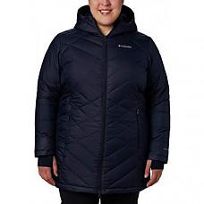 [해외] 콜롬비아 여성 롱후드 자켓 Columbia Women's Heavenly Long Hooded Jacket - Dark Nocturnal