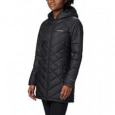 [해외] 콜롬비아 여성 롱후드 자켓 Columbia Women's Heavenly Long Hooded Jacket - Black
