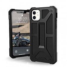 [해외] 유에이지 아이폰 11 케이스 URBAN ARMOR GEAR UAG Designed for iPhone 11 [6.1-inch Screen] Monarch Feather-Light Rugged [Black] Military Drop Tested iPhone Case