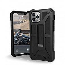 [해외] 유에이지 아이폰11Pro 케이스 UAG Designed for iPhone 11 Pro [5.8-inch Screen] Monarch Feather-Light Rugged [Black] Military Drop Tested iPhone Case