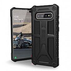 [해외] 유에이지 삼성갤럭시 S10 Plus 케이스 URBAN ARMOR GEAR UAG Designed for Samsung Galaxy S10 Plus [6.4-inch Screen] Monarch [Black] Military Drop Tested Phone Case