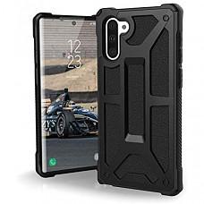 [해외] 유에이지 삼성갤럭시 노트10 케이스 UAG Designed for Samsung Galaxy Note10 [6.3-inch Screen] Monarch Feather-Light Rugged [Black] Military Drop Tested Phone Case