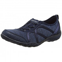 [해외] 스케쳐스 여성 스포츠 패션 스니커즈 Skechers Sport Women's Breathe Easy Fortune Fashion Sneaker - Navy