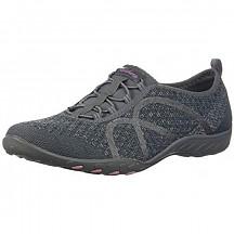 [해외] 스케쳐스 여성 스포츠 패션 스니커즈 Skechers Sport Women's Breathe Easy Fortune Fashion Sneaker - Charcoal Knit