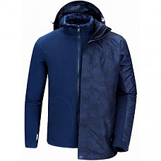 [해외] 카멜 크라운 남성 방수 자켓 CAMEL CROWN Waterproof Ski Jacket for Men 3 in 1 Winter Jacket Windbreaker Snow Coat Parka for Hiking Snowboard