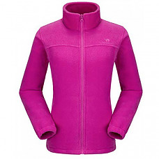 [해외] 카멜 크라운 여성 플리스 자켓 CAMEL CROWN Women Full Zip Fleece Jackets with Pockets Soft Polar Fleece Coat Jacket Sweater for Spring Outdoor - Rose Red-2