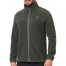 [해외] 카멜 크라운 남성 플리스 자켓 CAMEL CROWN Men Full Zip Fleece Jackets with Pockets Soft Polar Fleece Coat Jacket for Fall Winter Outdoor - Forest Green