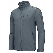 [해외] 카멜 크라운 남성 소프트셀 방수 자켓 플리스 CAMEL CROWN Mens Softshell Jacket Fleece Lined Waterproof Windproof Lightweight Outdoor Jackets Full Zip Hiking Work