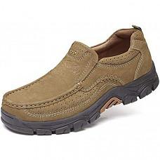 [해외] 카멜 크라운 남성 로퍼 CAMEL CROWN Mens Loafers Slip-On Loafer Leather Casual Walking Shoes Comfortable for Work Office Dress Outdoor - Khaki4020