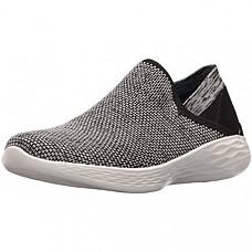 [해외] 스케쳐스 여성 스니커즈 Skechers You-14958 Sneaker - Black/White